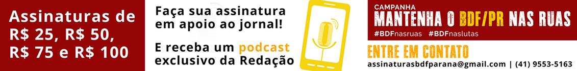 Mantenha o BdF Paraná nas ruas!