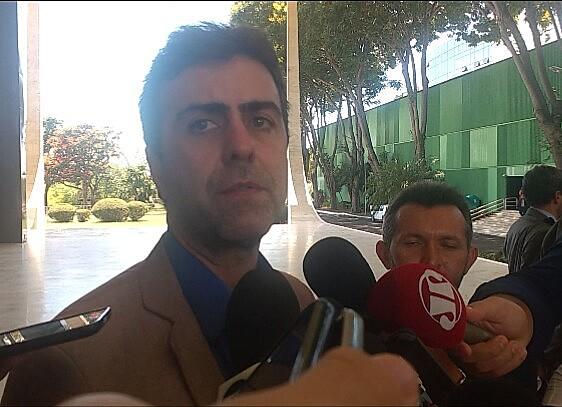 Deputado estadual Marcelo Freixo (PSOL-RJ) estava na comitiva que participou da reunião