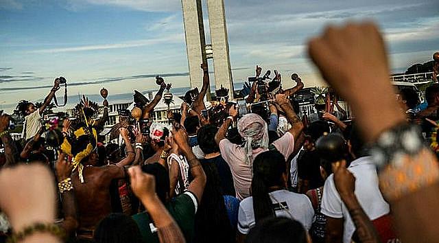 13° campamento Terra Livre en Brasilia
