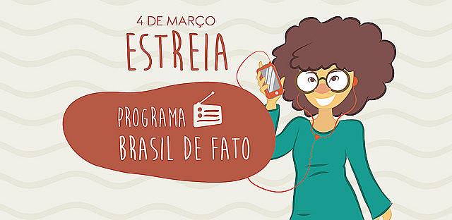 Programa Brasil de Fato Pernambuco vai ao ar das 7h às 8h da manhã, todo sábado e domingo