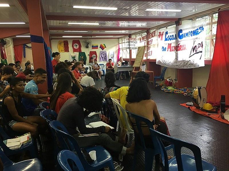 Assembleia da IV Escola Camponesa da Memória, em São Paulo (SP)
