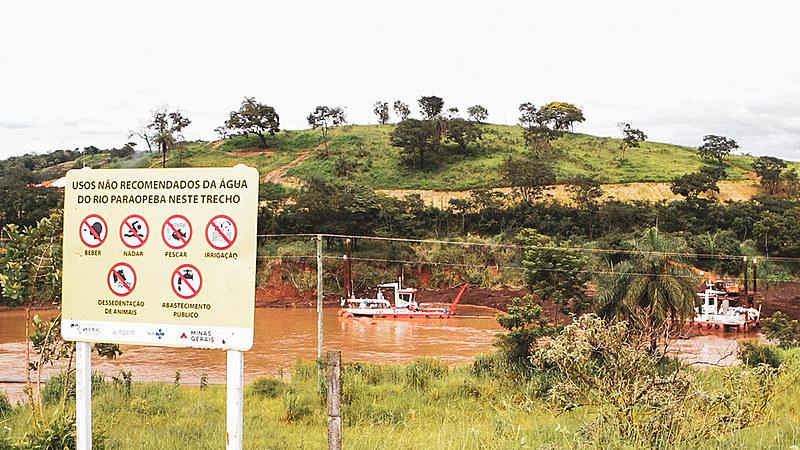 """""""O futuro do abastecimento de água está na bacia hidrográfica do rio Paraopeba"""", explica o especialista em águas."""