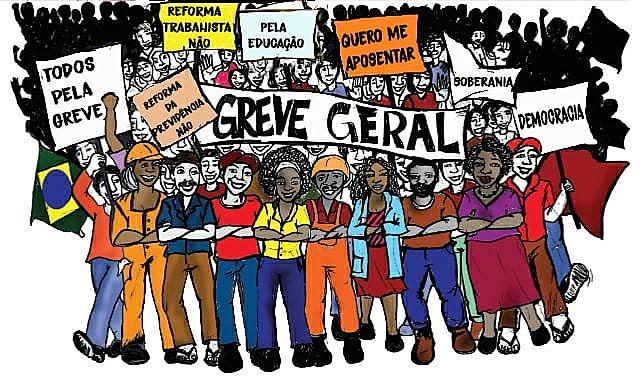 A greve geral dessa semana tem a estratégia, bem sucedida em 2017 contra a reforma proposta por Temer