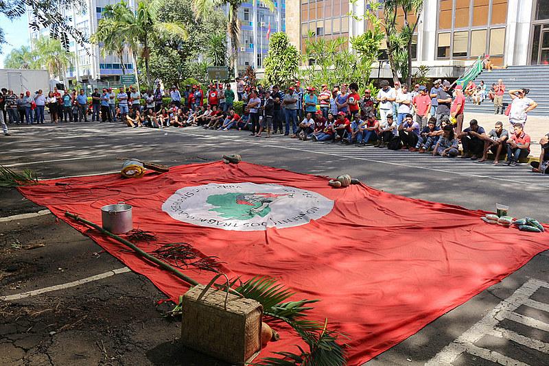 Assembleia do MST avalia ações da Jornada de Lutas em Porto Alegre