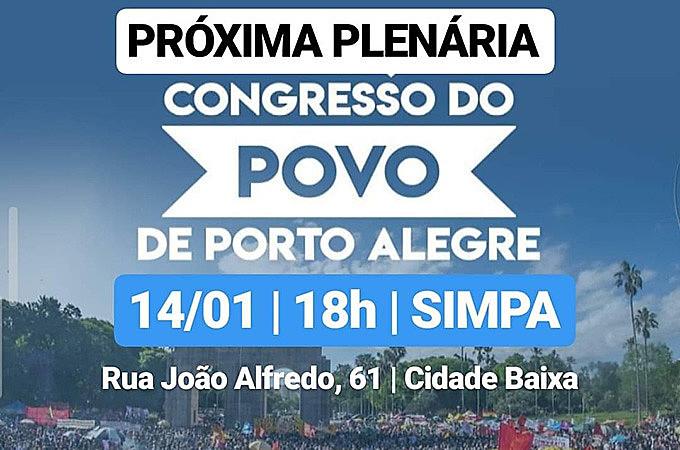 O Congresso do Povo não é um evento, é um instrumento para que o povo apresente suas demandas e sugira soluções