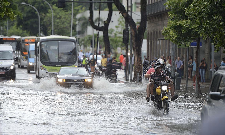 alagamento chuva rio de janeiro rj