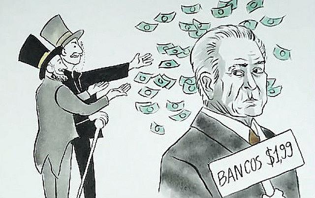 Política de austeridade total de Temer faz ricos lucrarem ainda mais e joga muitos brasileiros para a extrema pobreza