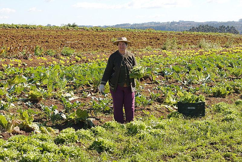 Bernadete, mãe de Dulciani, se dedica diariamente à agricultura familiar e agroecológica