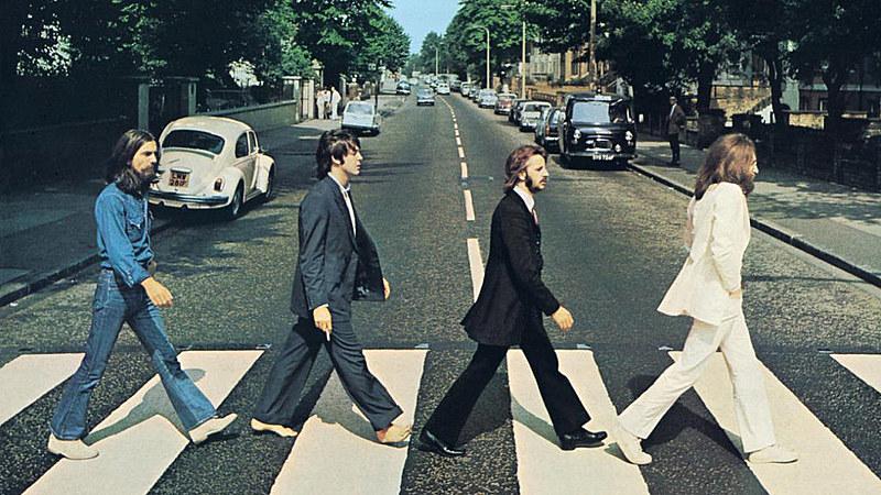Canção está no icônico álbum Abbey Road. George Harrison é o primeiro à esquerda na capa do disco.