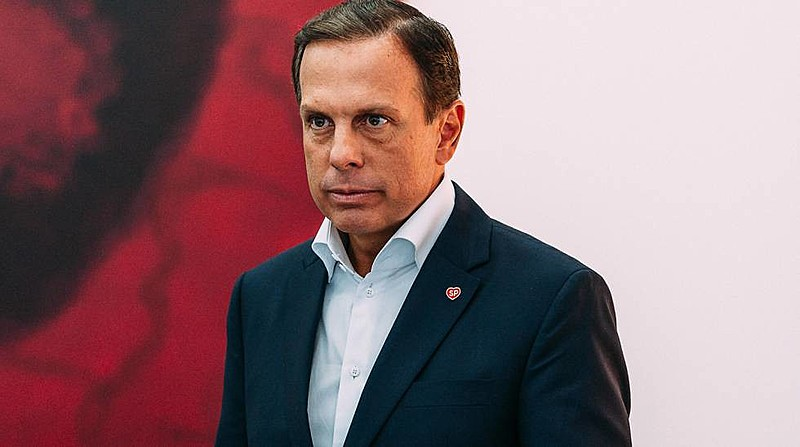 João Doria, governador de São Paulo, diz que cultura não é prioridade em sua gestão