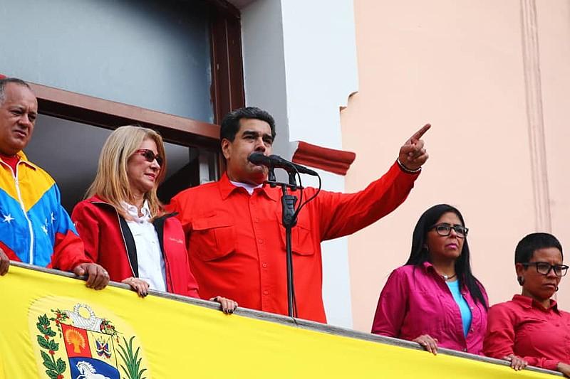 Nicolás Maduro foi reeleito presidente da Venezuela em 2018