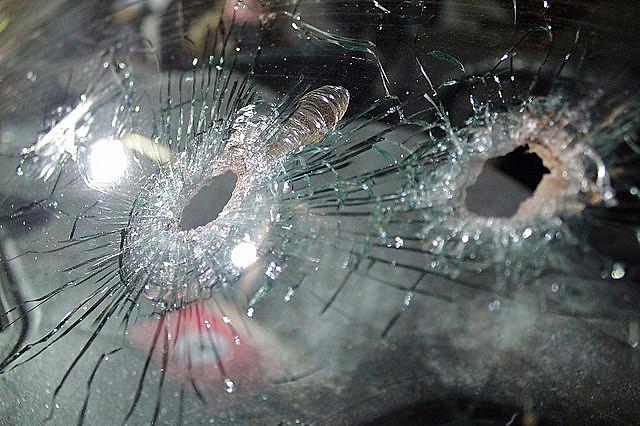 Registros da PM apontam o uso de 128 balas durante assassinato de dois trabalhadores sem-terra pela PM em Quedas do Iguaçu (PR)
