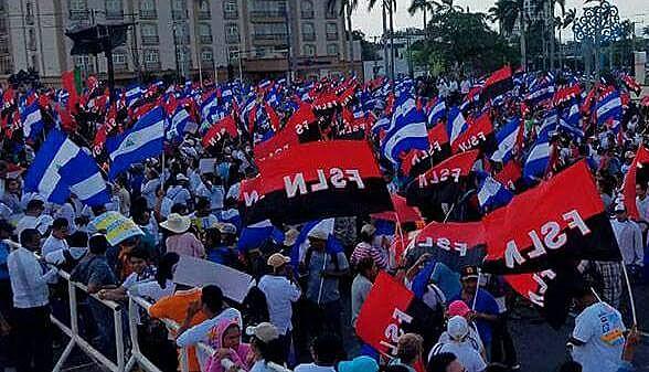 A revolução triunfou dois dias depois que o ditador Anastasio Somoza fugiu para Miami
