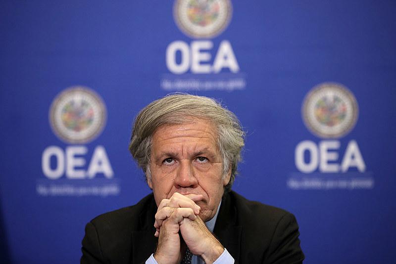 EUA anunciaram que desejam reconduzir Luis Almagro ao cargo de secretário-geral da OEA