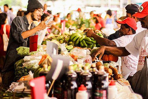 Feiras da Reforma Agrária já aconteceram em outros locais do país, como no Rio de Janeiro