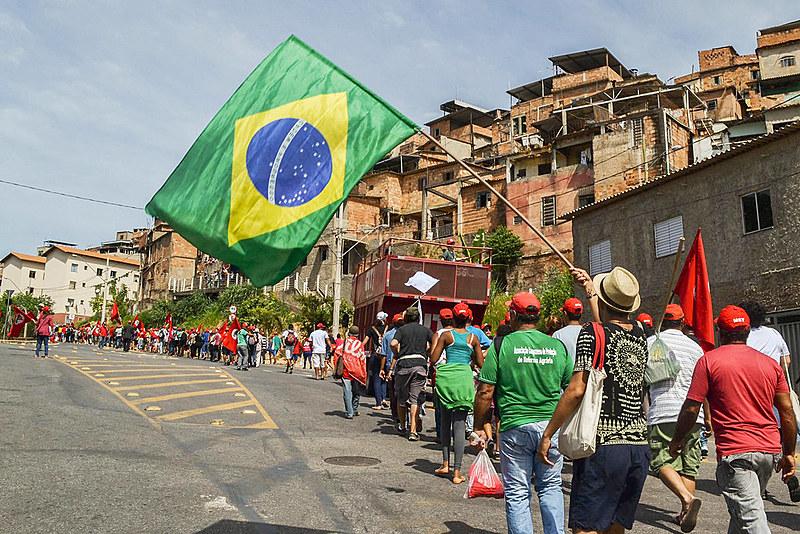 No último dia, cerca de 3 mil pessoas participaram do ato no Vera Cruz, em BH