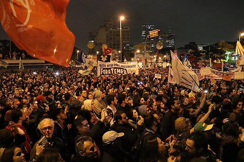 Greve Geral de 28 de abril em São Paulo