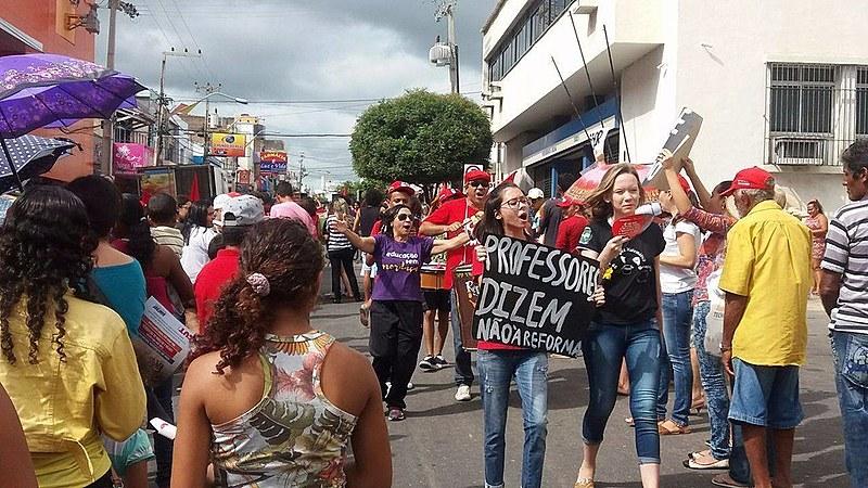 A paralisação da CNTE vai até o dia 25 de março