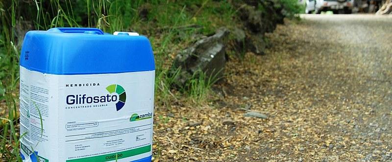 Glifosato é o agrotóxico mais utilizado no Brasil