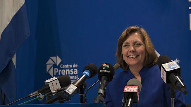 Josefina Vidal afirmou que Cuba 'é e seguirá sendo profundamente anti-imperialista' mesmo com reaproximação com EUA