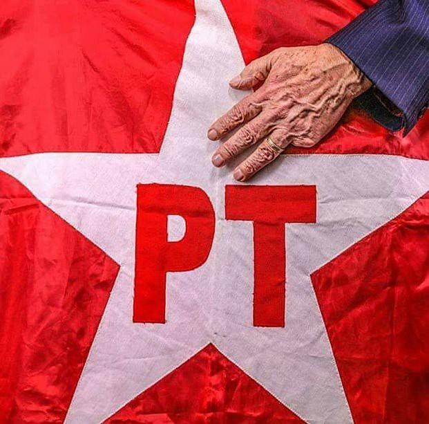 Bandeira do Partido dos Trabalhadores