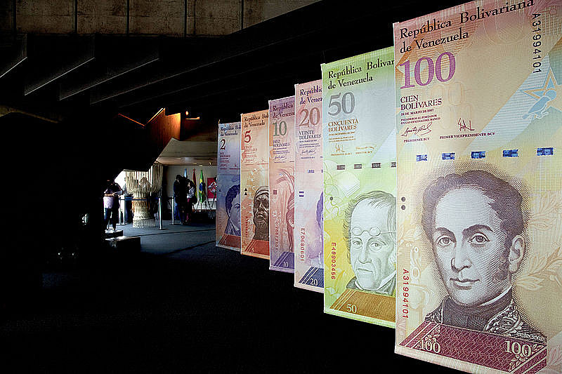 Nova moeda da Venezuela passa a se chamar bolívar soberano (Foto: AVN)