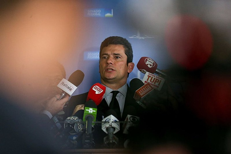 Sérgio Moro deixou a magistratura para fazer parte do governo Bolsonaro
