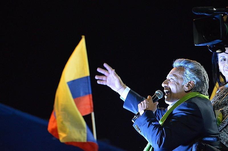 """Virtualmente eleito, Lenín disse que irá """"governar para todos"""""""