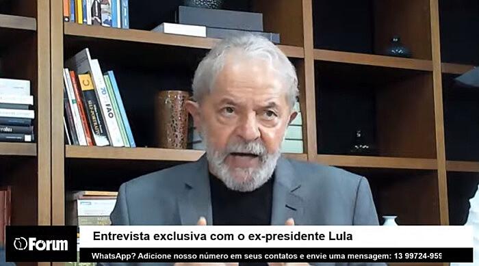Entrevista foi realizada nesta quarta-feira (11), encabeçada pelo jornalista Renato Rovai