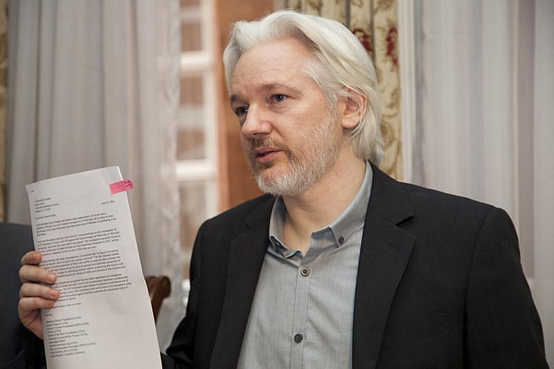 O criador do WikiLeaks, Julian Assenge, encontram-se privado de liberdade desde 2010