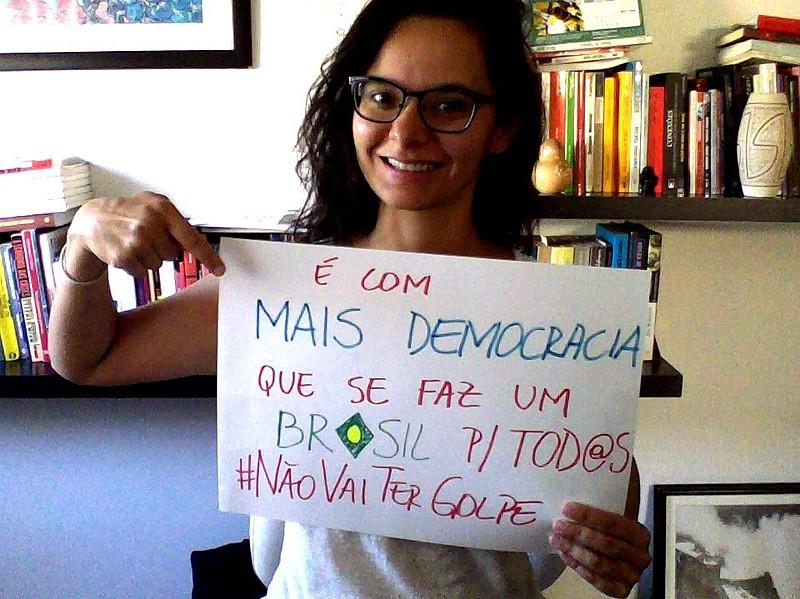 Uma das médicas que aderiu a campanha é Ellen Machado Rodrigues