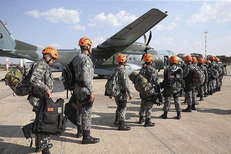 Tropas da Força Nacional estiveram na Amazônia em agosto de 2019 para atuar no combate a incêndios criminosos
