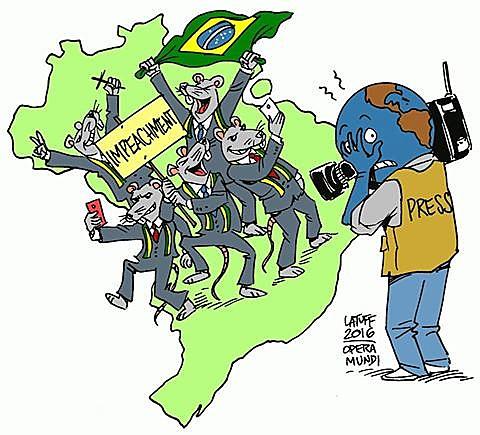 A imprensa estrangeira e o golpe