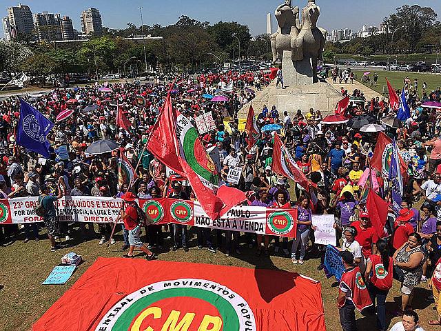 Em 2017, o ato em São Paulo reuniu cerca de 15 mil pessoas