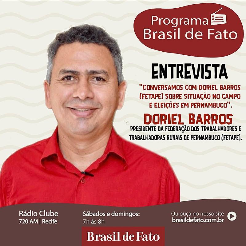 Doriel Barros falou sobre os desafios e corrida eleitoral em Pernambuco.