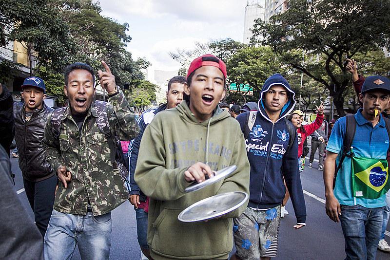 Em julho, ambulantes organizaram vários protestos no centro da capital mineira