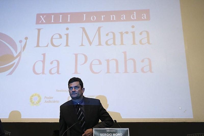 Sérgio Moro reafirmou opinião, nesta quarta (08), durante a abertura da 13ª Jornada Lei Maria da Penha