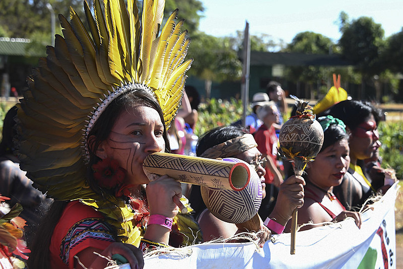 Marcha das Mulheres Indígenas sobre Brasília, 13 de agosto de 2019