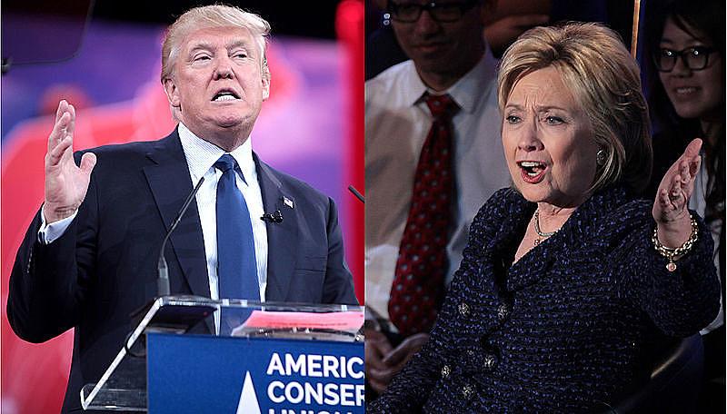 Hillary Clinton e Donald Trump fizeram na noite desta quarta-feira (19) o último debate das eleições deste ano nos Estados Unidos