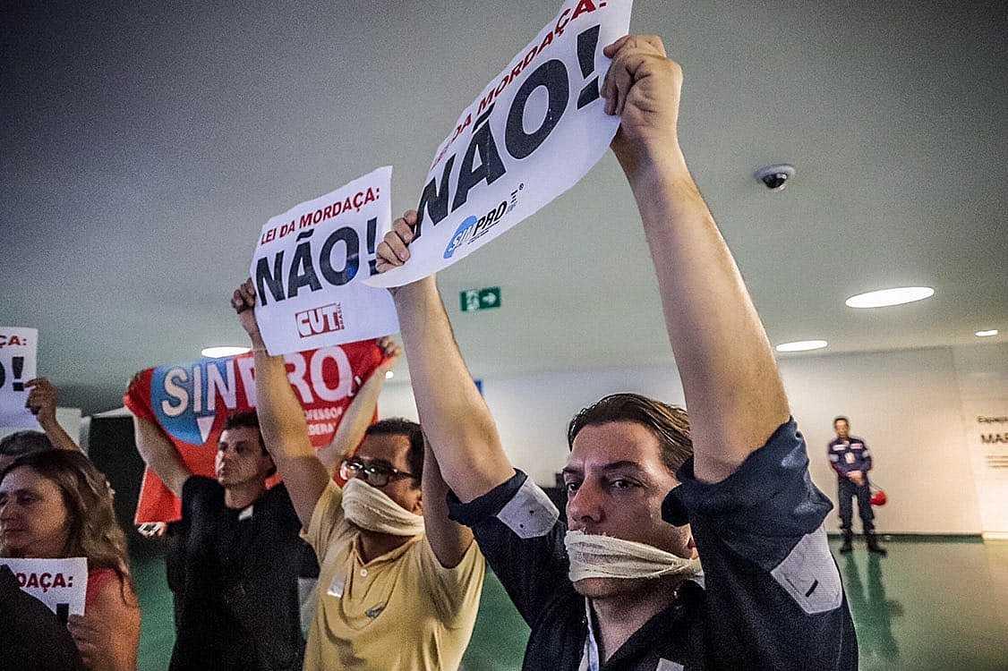 camara protesto