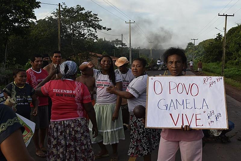 O povo Gamela sofreu um ataque que resultou em 13 feridos