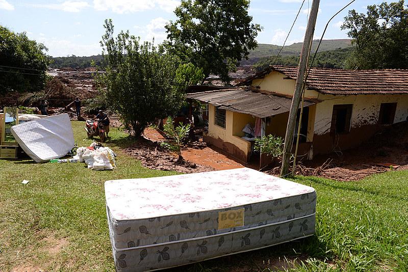 Rompimento de barragem da Vale em Brumadinho (MG) destruiu casas de moradores e causou devastação ambiental