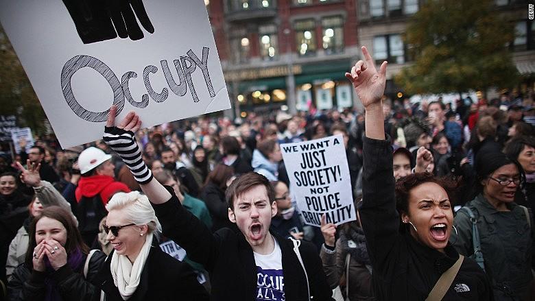 Occupy foi parte de uma onda global de protestos que se opôs à injustiça social e ao esvaziamento da representação democrática
