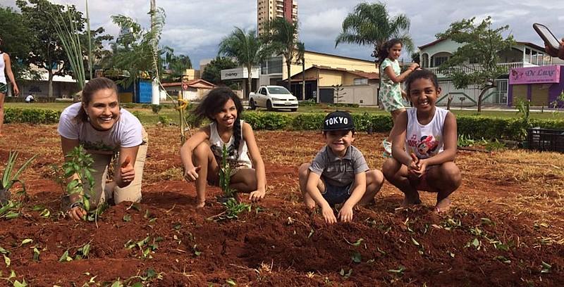 Na edição desta quarta-feira (20), o programa mostrou a iniciativa da ONG que incentiva crianças ao plantio de hortas orgânicas em escolas