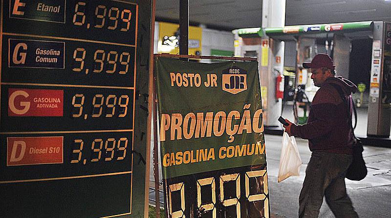 Greve dos caminhoneiros afetou o abastecimentos de postos de gasolina pelo país