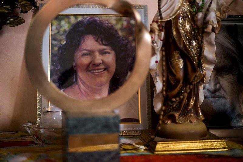 Berta Cáceres foi morta no dia 3 de março de 2016 por se opor a um projeto hidrelétrico