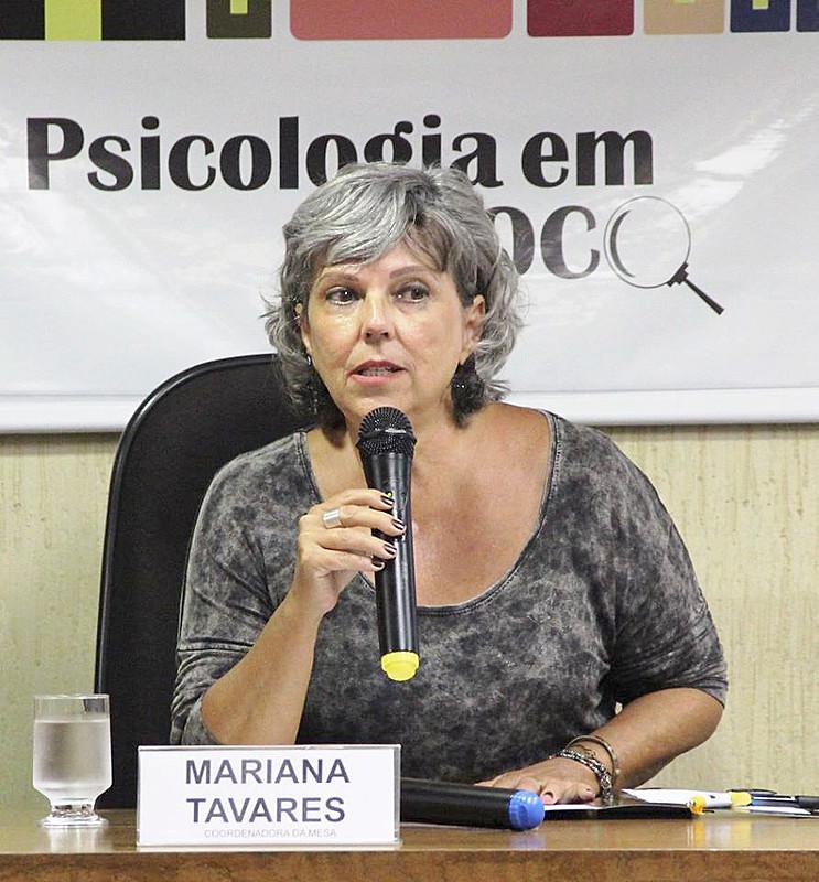 Mariana Tavares é conselheira e coordenadora da Comissão de Psicologia Clínica do Conselho de Psicologia de Minas Gerais (CRP-MG)