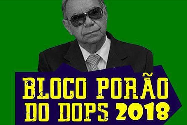 O Tribunal de Justiça concendeu liminar proibindo o bloco Porão do Dops de sair no carnaval de São Paulo.