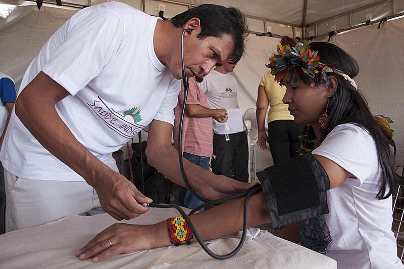 Atendimento de saúde indígena é de competência da União, por meio da Secretaria Especial de Saúde Indígena (Sesai)