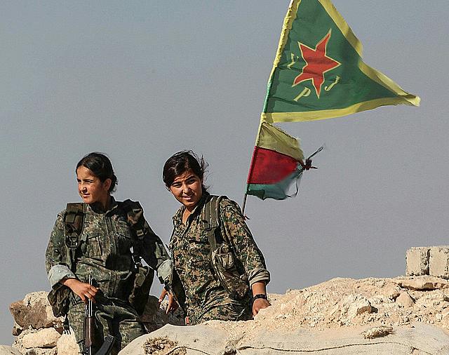 Al frente de batalla de esta revolución está el Movimiento de Liberación de las Mujeres en Kurdistán